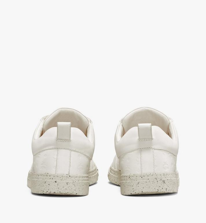 MCM Men's Sustainable Terrain Lo Sneakers White MEXAAMM14WT041 Alternate View 3