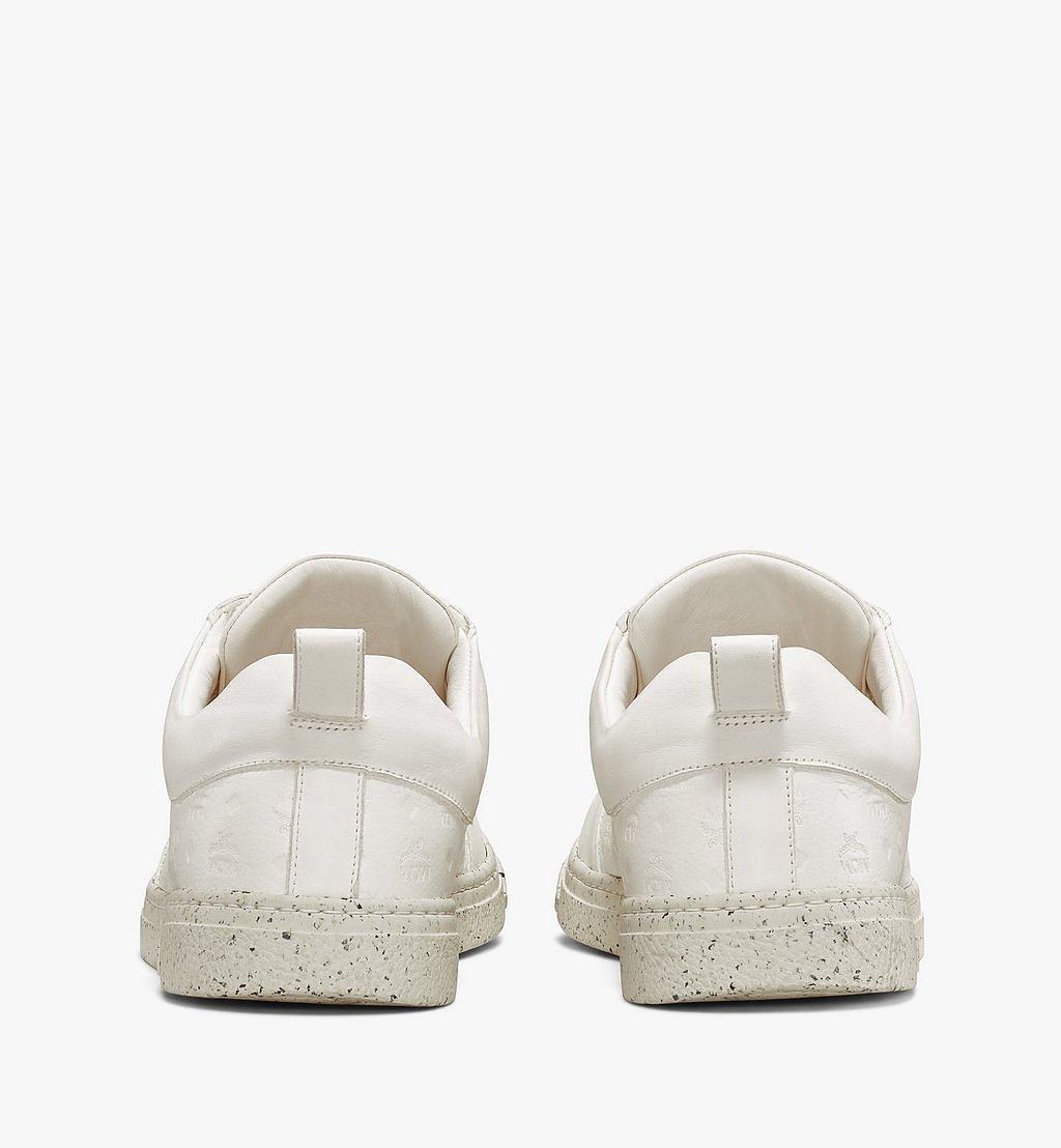 MCM Men's Sustainable Terrain Lo Sneakers White MEXAAMM14WT042 Alternate View 2