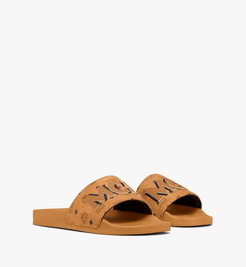 Men's MCM Monogram Slides