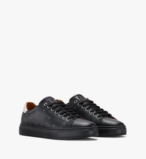 Men's Low-Top Sneakers in Visetos