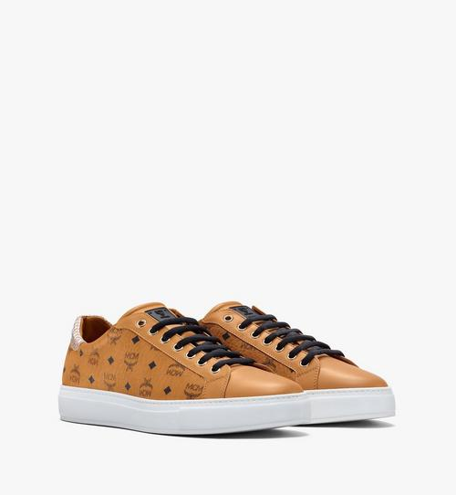 Men's Low-Top Sneakers in Visetos