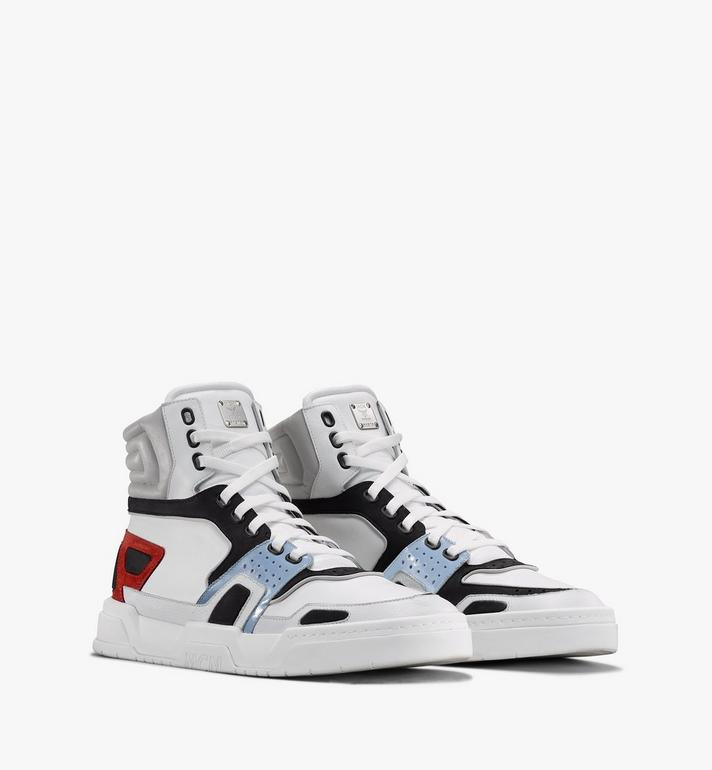 MCM Skyward High-Top-Sneaker für Herren White MEXASMM31WT042 Alternate View 1