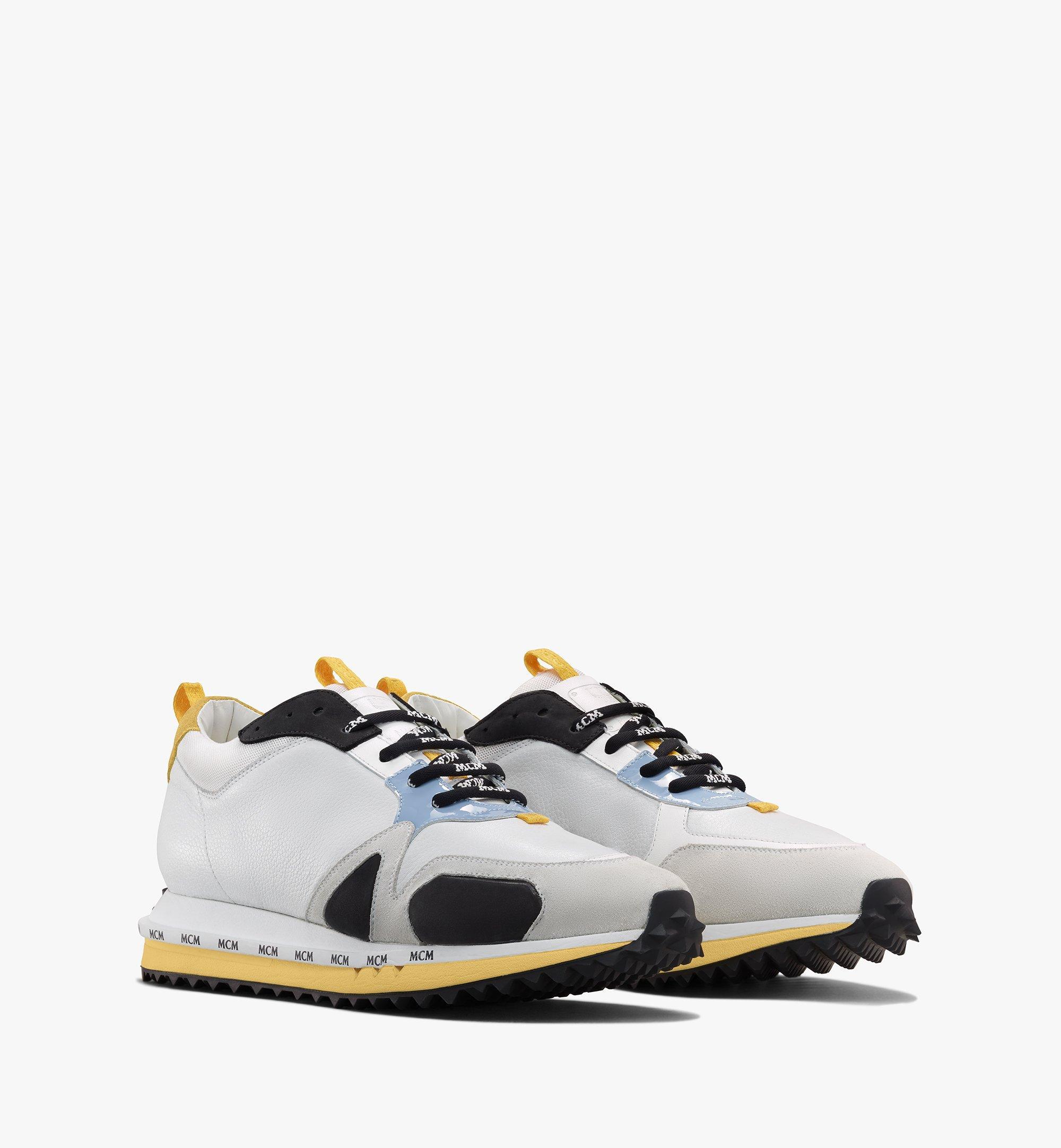 MCM Mach 76 Sneaker für Herren White MEXASMM34WT041 Alternate View 1