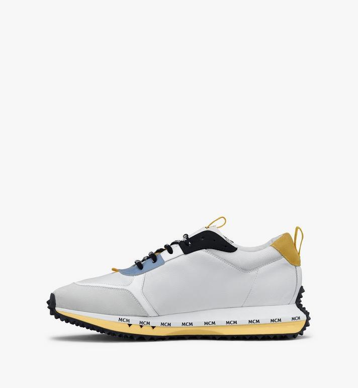 MCM Men's Mach 76 Sneakers White MEXASMM34WT045 Alternate View 4