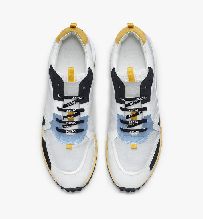 MCM Men's Mach 76 Sneakers White MEXASMM34WT045 Alternate View 5