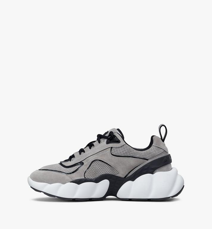 MCM Men's Himmel Low-Top Sneakers Grey MEXASNX02FJ041 Alternate View 4