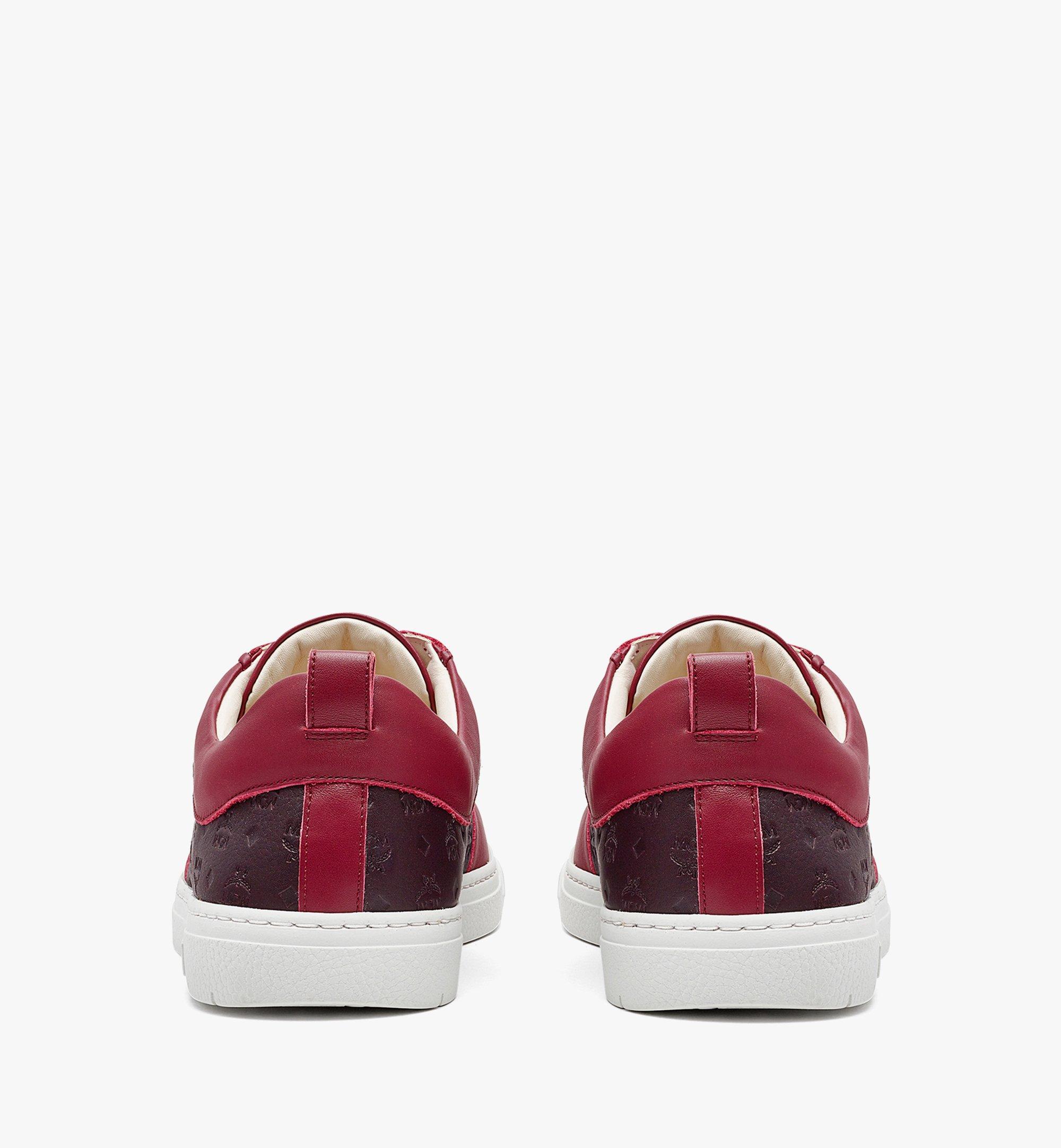 MCM Nachhaltiger Terrain Low-Top-Sneaker aus Leder mit Monogramm für Herren Brown MEXBAMM01N9040 Noch mehr sehen 2