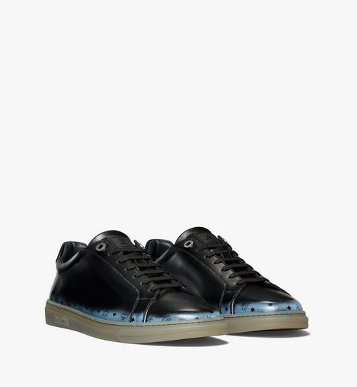 Men's Terrain Lo Sneakers in Brushed Gradient Leather