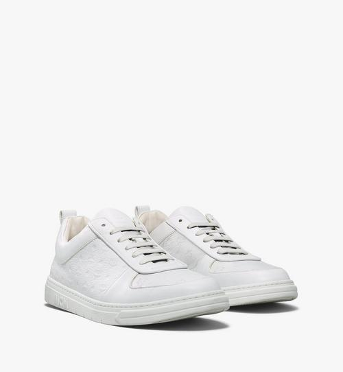 Men's Sustainable Terrain Lo Sneakers in Monogram Leather