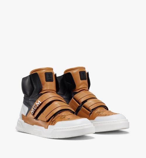 Men's Skyward Velcro Hi Sneakers in Visetos