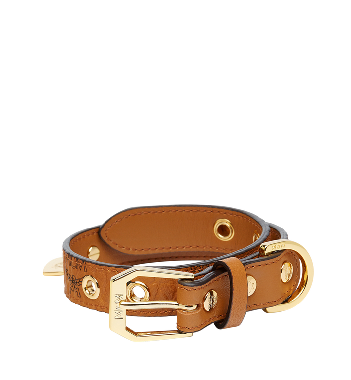 MCM Hundehalsband in Visetos Alternate View 1