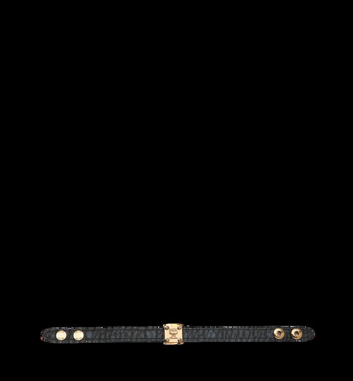 MCM 리버서블 비세토스 로고 플레이트 브레이슬릿 Black MEZ8AMM02BK001 Alternate View 3