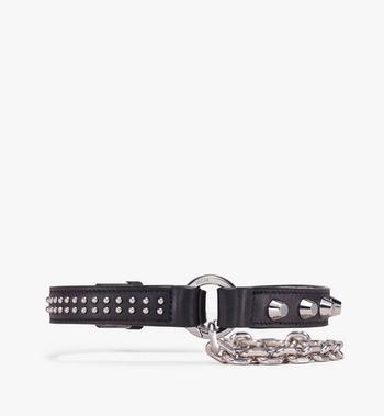 MCM Bracelets en cuir clouté à chaîne  MEZ9AMM14BK001 Alternate View 2