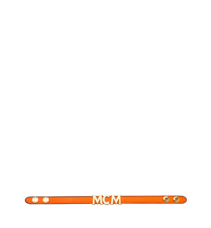 MCM リバーシブル レター ブレスレット レザー Alternate View 3