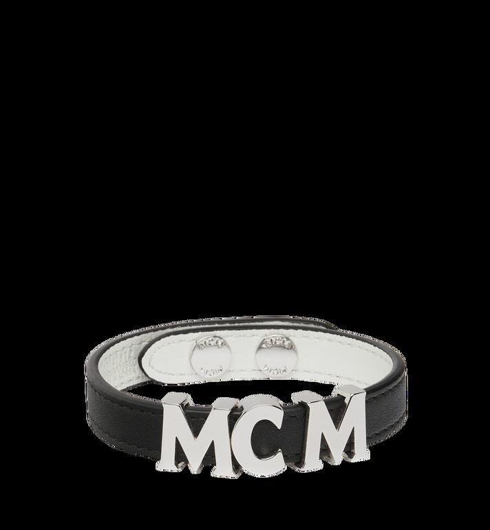 MCM Reversible Letter Bracelet in Leather Alternate View