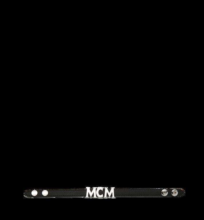 MCM Reversible Letter Bracelet in Leather Alternate View 3