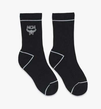 MCM Classic Logo Cotton Socks Alternate View