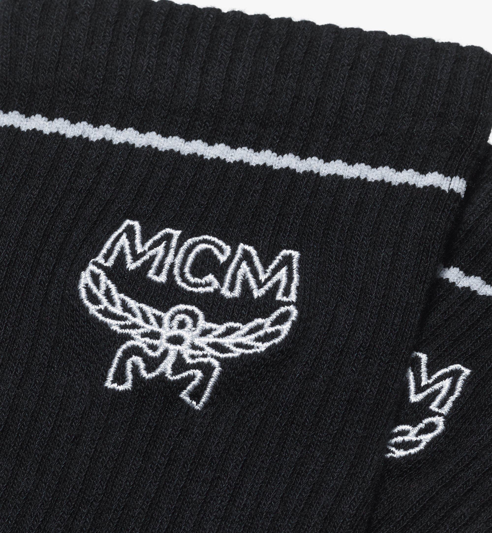 MCM 經典標誌綿襪 Black MEZASBM01BK0ML 更多視圖 1