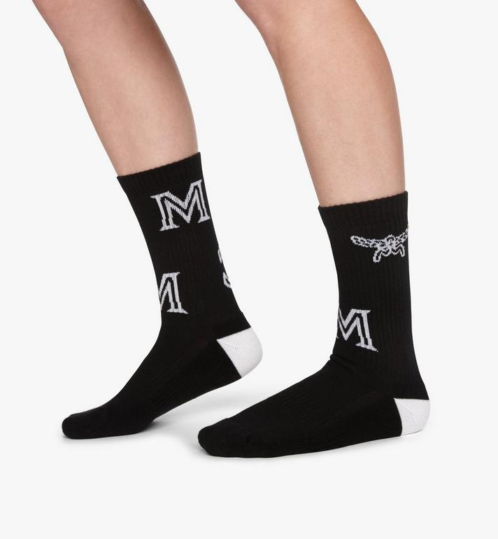 MCM SOCKS-MEZASBM03  5198 Alternate View 3