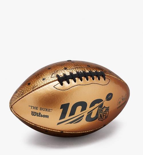 MCM x WILSON 100th Anniversary Football in Visetos