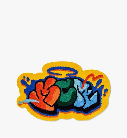 〈MCM x SAMBYPEN〉ロゴ ラグ