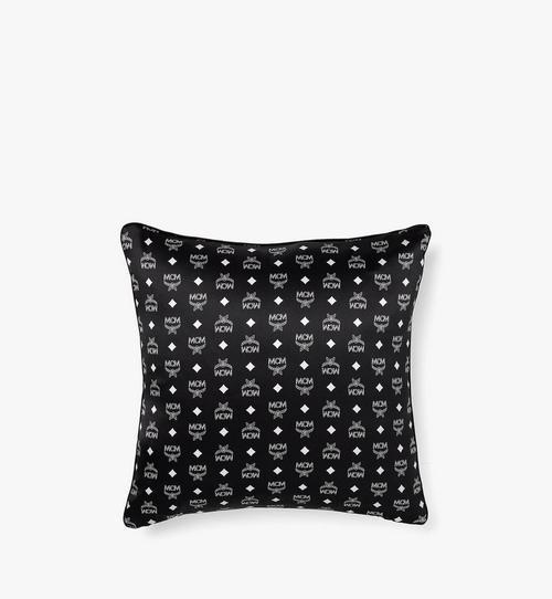 Monogram Silk Satin Cushion
