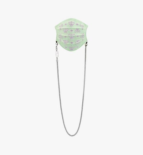 Monogram Knit Face Accessory with Chain