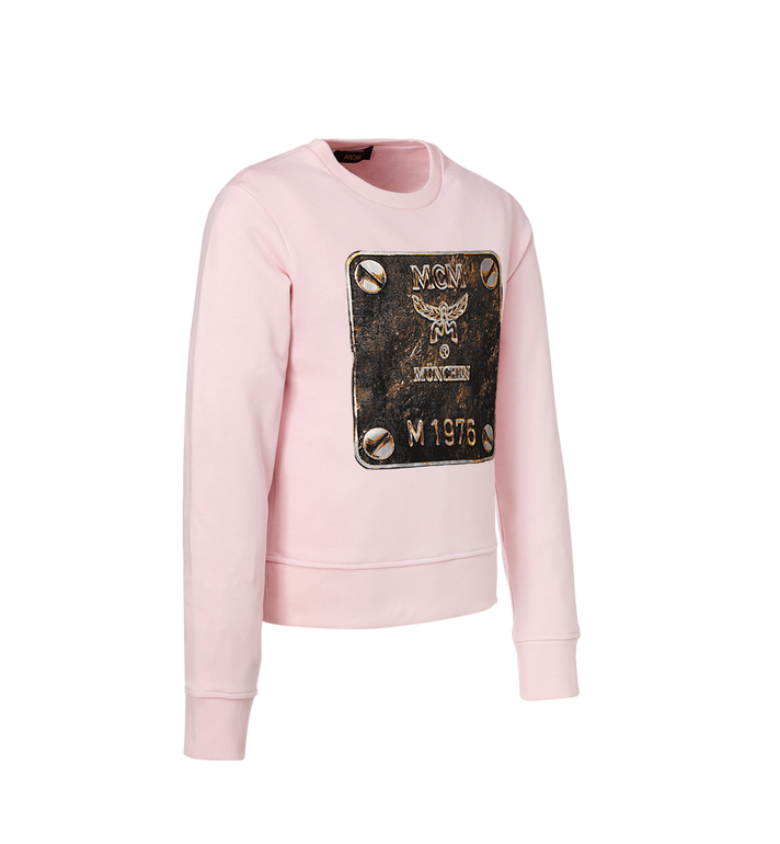 MCM Women's Brass Plate Sweatshirt Alternate View 2