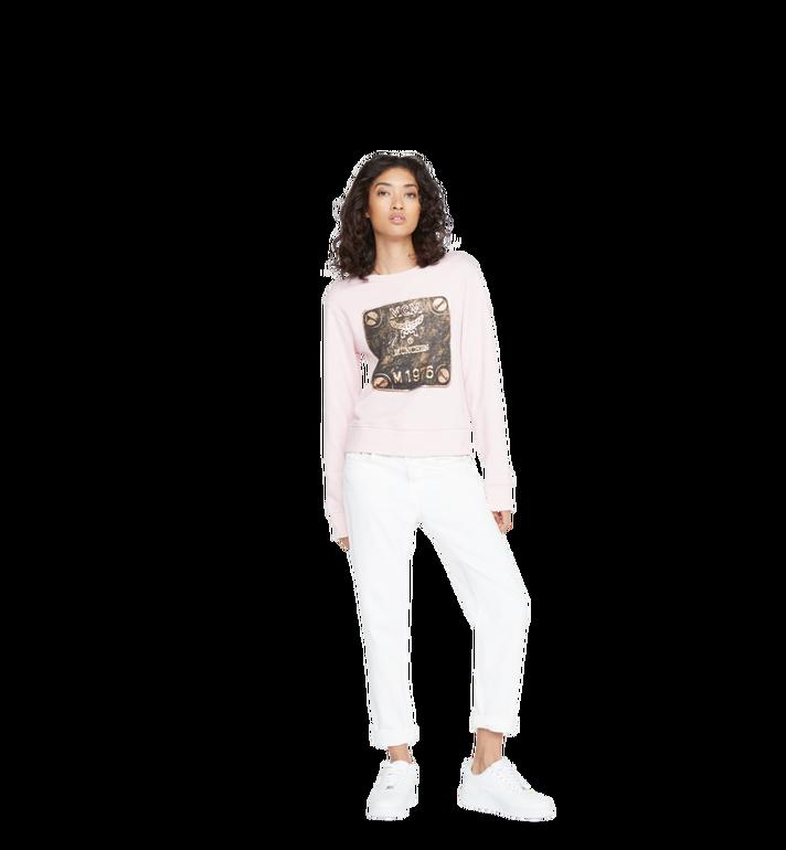 MCM Women's Brass Plate Sweatshirt Alternate View 4