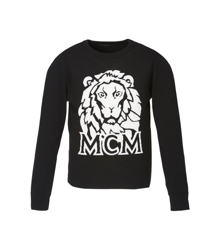 MCM Women's Munich Lion Intarsia Sweater Alternate View