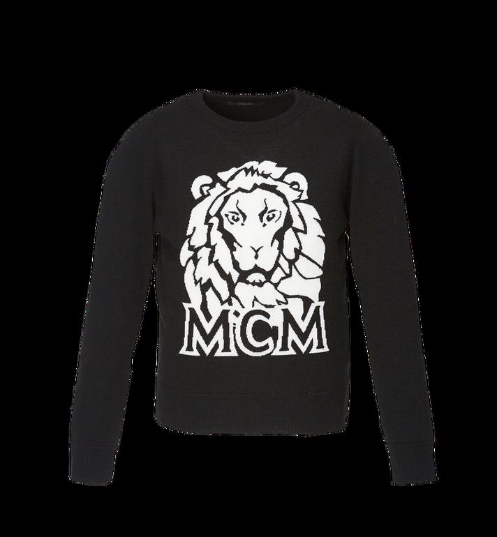 MCM Women's Munich Lion Intarsia Sweater MFA8AMM18BK00L AlternateView