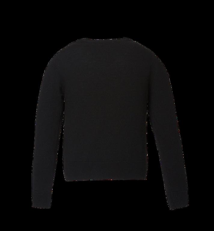MCM Women's Munich Lion Intarsia Sweater MFA8AMM18BK00L AlternateView3