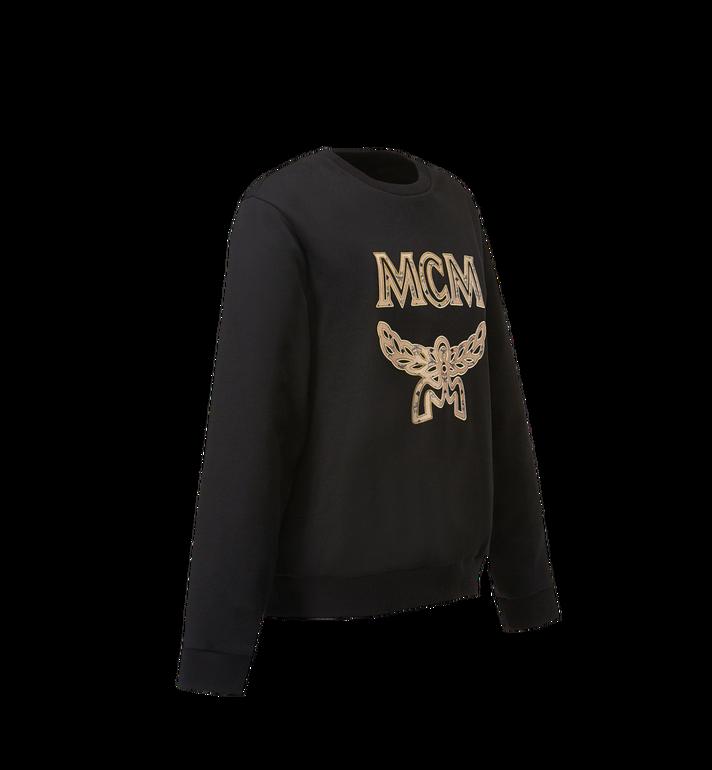 MCM ウィメンズ ロゴ スウェットシャツ Black MFA8SMM13BK0XS Alternate View 2