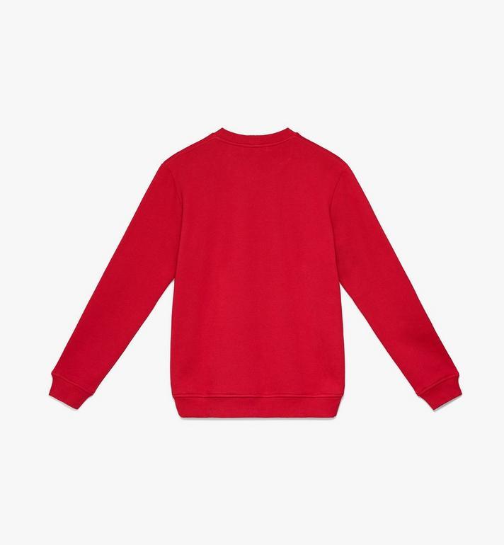 MCM Women's Milano Sweatshirt Red MFA9ADA74RU0XS Alternate View 2