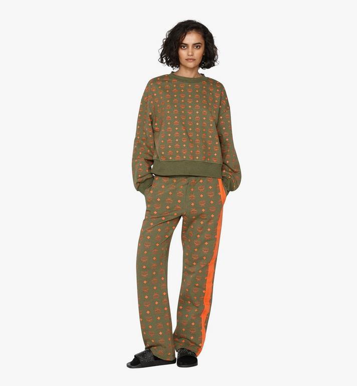 MCM Women's Oversized Sweatshirt in Visetos Alternate View 3