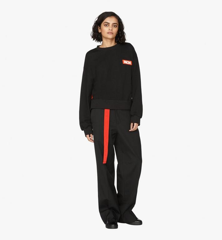 MCM Women's Resnick Sweatshirt  MFA9ARA30BK00S Alternate View 3