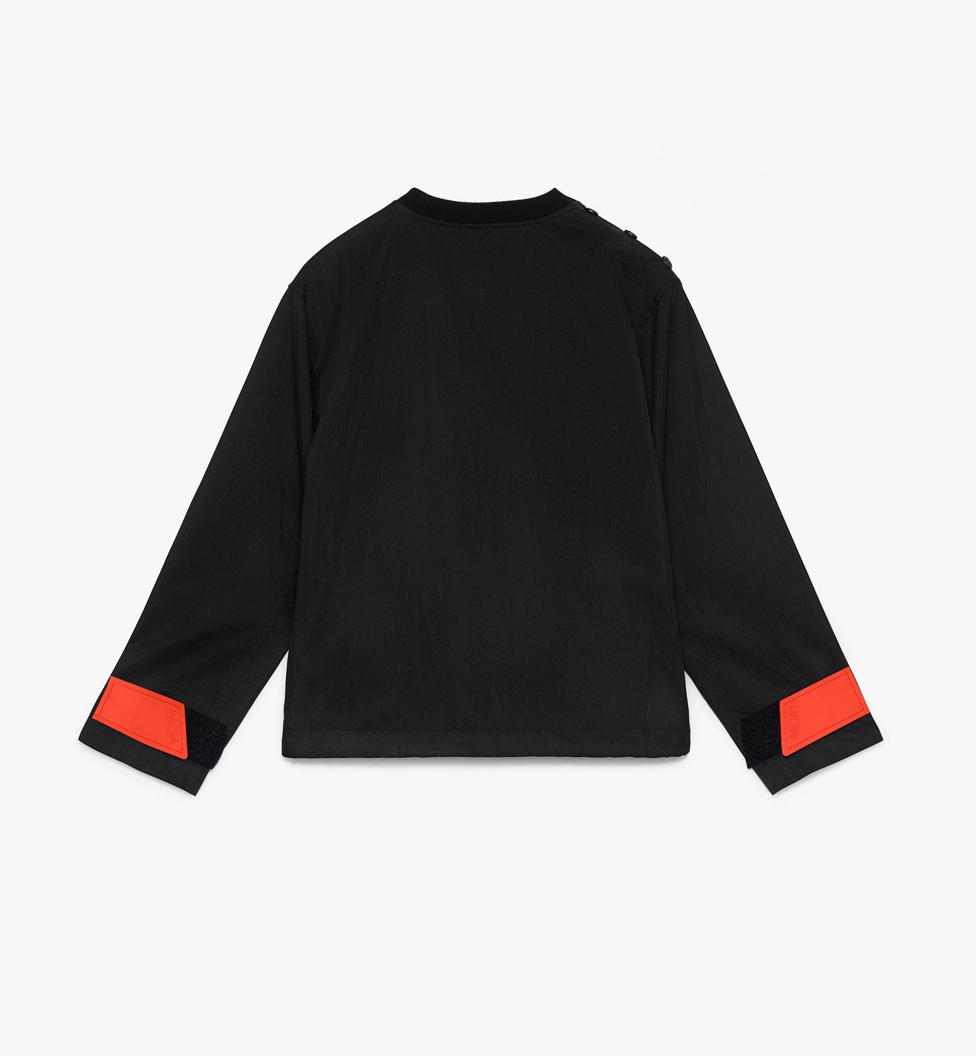 MCM Women's Resnick Utility Sweatshirt  MFA9ARA34BK00M Alternate View 2