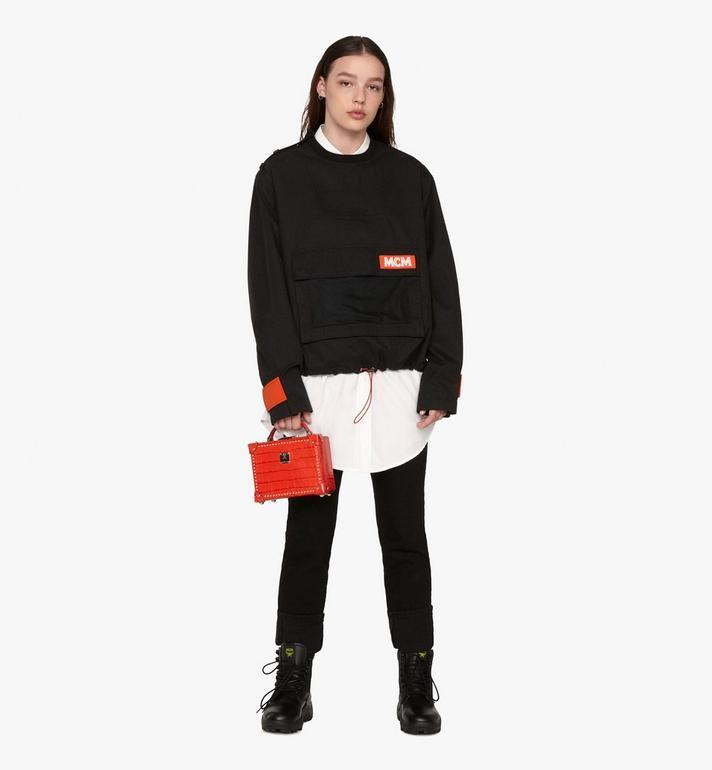 MCM Women's Resnick Utility Sweatshirt  MFA9ARA34BK00S Alternate View 3
