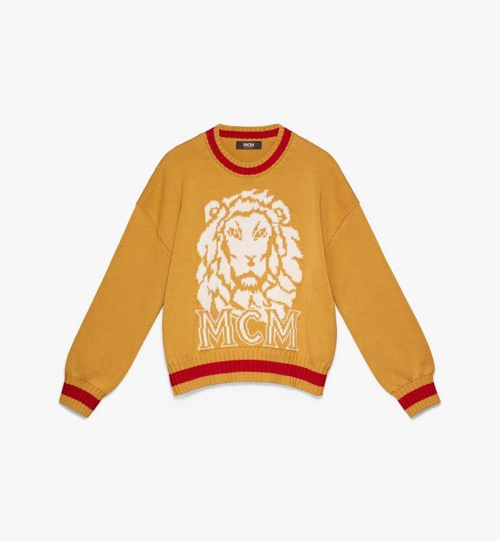 MCM Women's Munich Lion Wool Sweater Alternate View