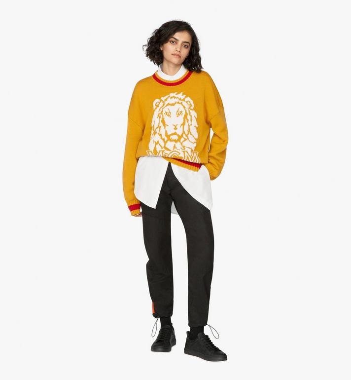 MCM Women's Munich Lion Wool Sweater Alternate View 3