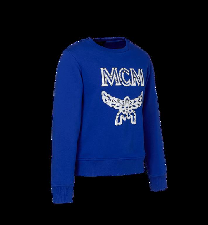 MCM ウィメンズ ロゴ スウェットシャツ Blue MFA9SMM13HG00S Alternate View 2