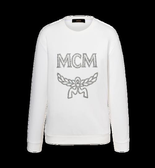 Women's Crystal Detail Logo Sweatshirt