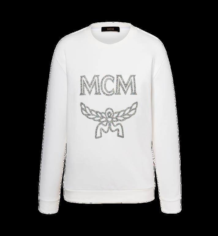 MCM Women's Crystal Detail Logo Sweatshirt Alternate View