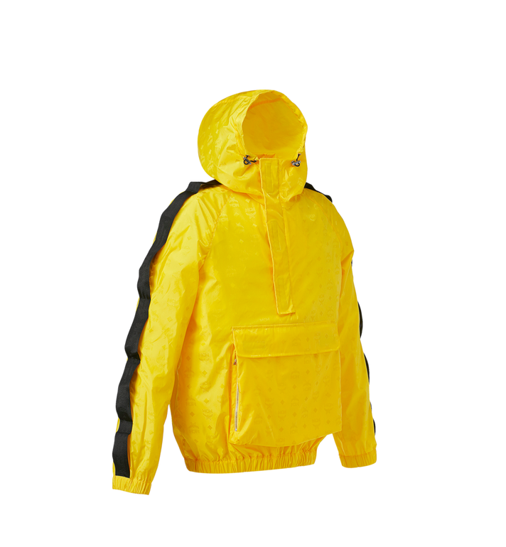 MCM Women's Structural Anorak in Nylon Yellow MFA9SNX50YW038 Alternate View 2