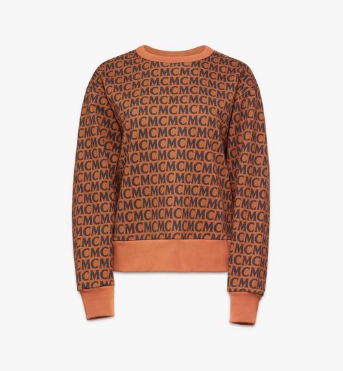 Sweatshirt mit Monogramm für Damen