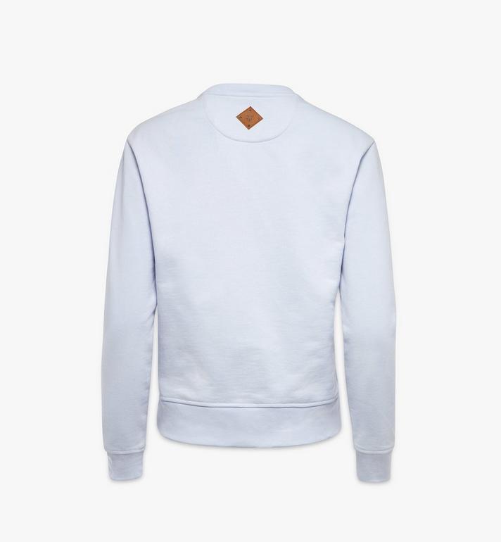 MCM Klassischer Pullover mit Logo für Damen Blue MFAAAMM01H400L Alternate View 2