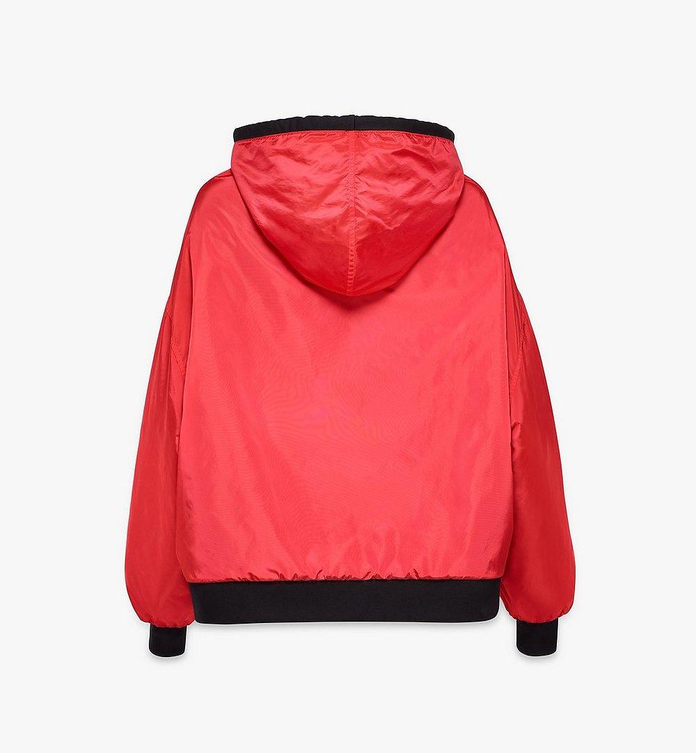 MCM Women's Reversible Zip Hoodie Multi MFAAAMM06BK00S Alternate View 3