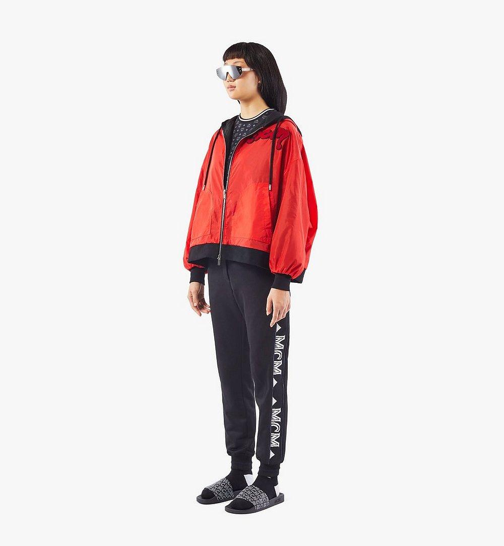 MCM Women's Reversible Zip Hoodie Multi MFAAAMM06BK00S Alternate View 4