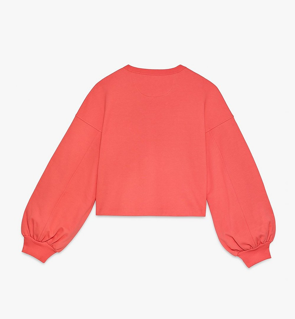 MCM Women's MCM Worldwide Sweatshirt Orange MFAASMM03O300S Alternate View 1