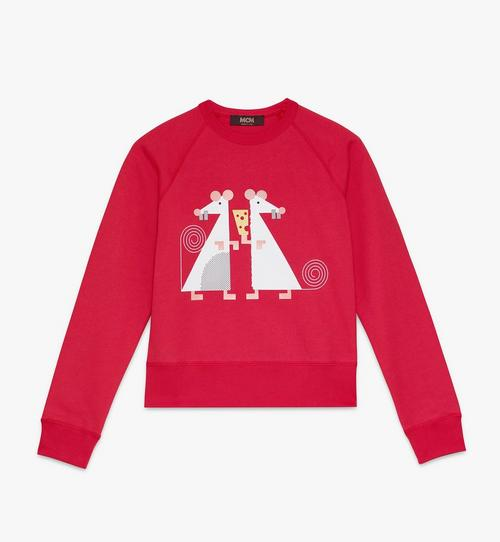 Year Of The Mouse Sweatshirt mit Rundhalsausschnitt für Damen
